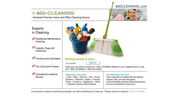800 cleaning.com